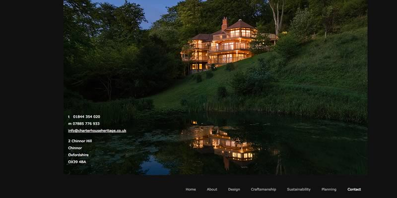 Heritage Property Company Website Design