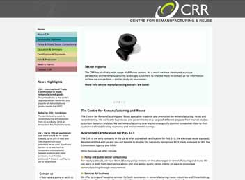 Business consultancy website design