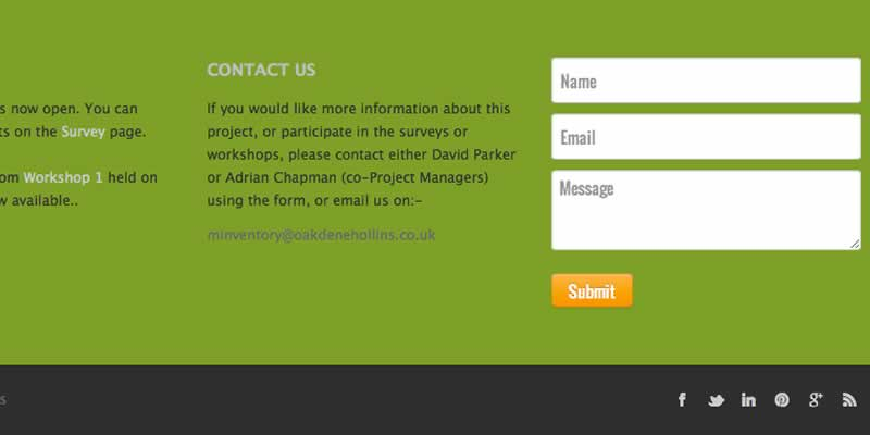 Quick enquiry form using Ajax for same page transition