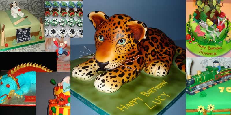 Selection of fantastic custom decorated cakes