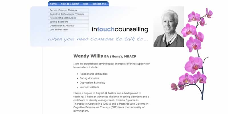 Buckinghamshire counselling website