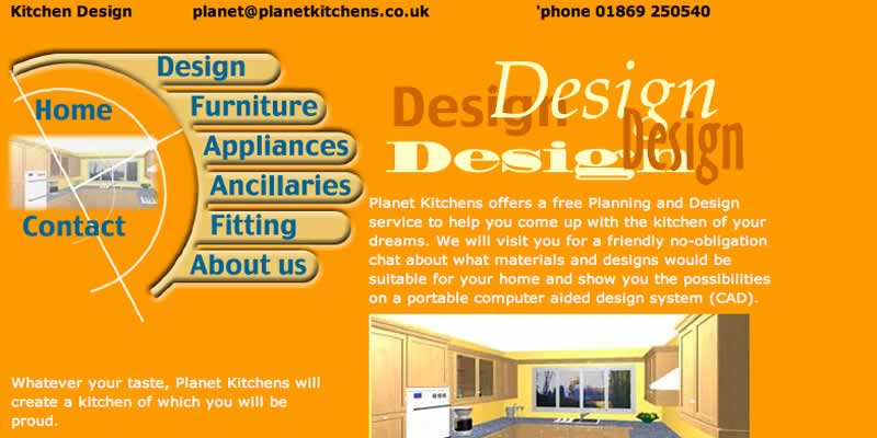 Catering equipment company website